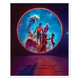 "Stickers ""Destination Gravity"" by thebakaarts"