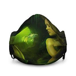 """Mask """"The Mermaid"""" by ElenaDudina"""