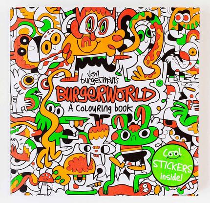 Burgerworld A Coloring book
