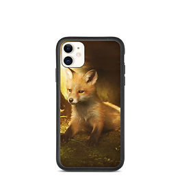 """iPhone case """"Little Fox and the flowers"""" by ElenaDudina"""