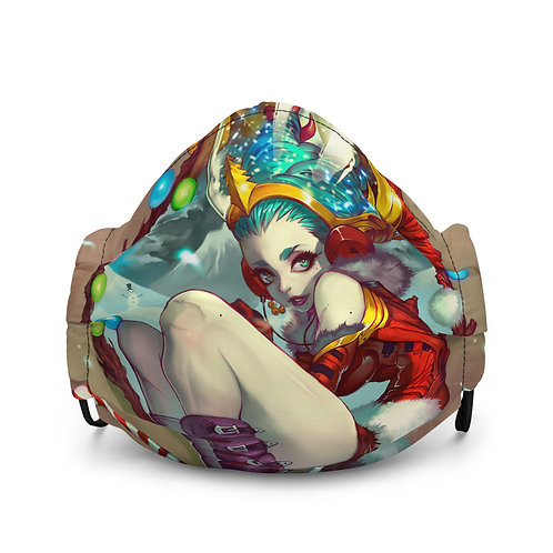 "Mask ""Purple Girl"" by Elsevilla"
