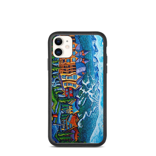 """iPhone case """"Whistler Village"""" by LauraZee"""