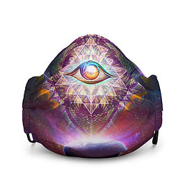 "Mask ""Cosmic Eye"" by Lilyas"