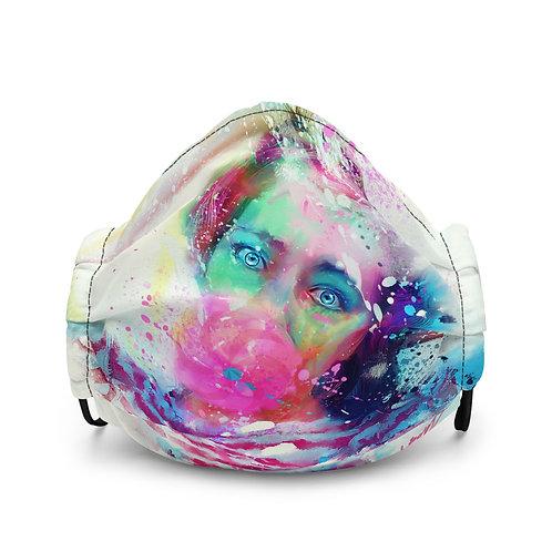 "Mask ""Bubble Yum"" by phatpuppyart-studios"