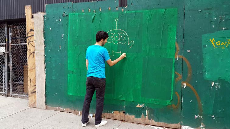 Chalk works