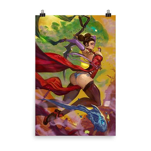 """Poster """"Faith Jump"""" by Elsevilla"""