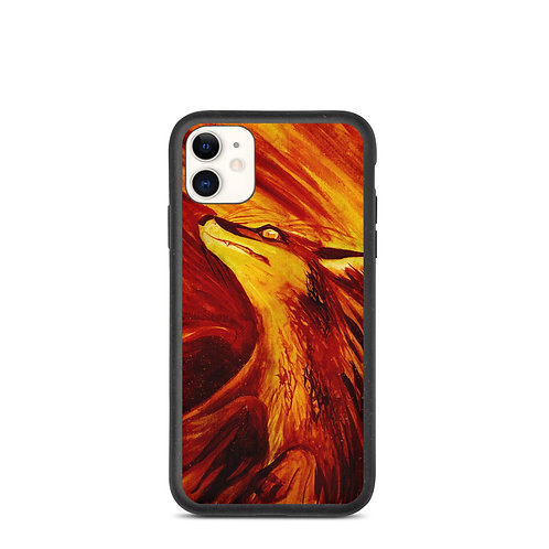 """iPhone case """"Fires Embrace"""" by Culpeo-Fox"""