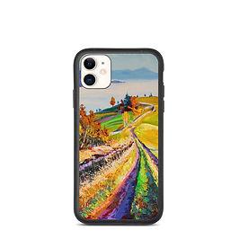 "iPhone case ""Autumn Morning"" by Gudzart"