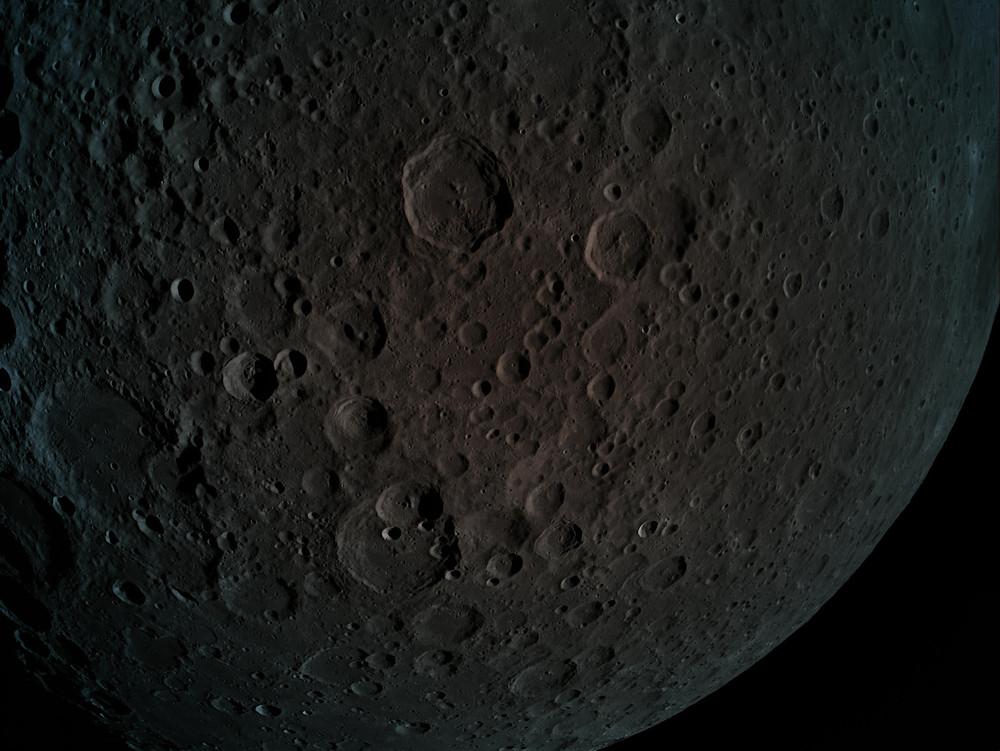 צילום תקריב של הירח