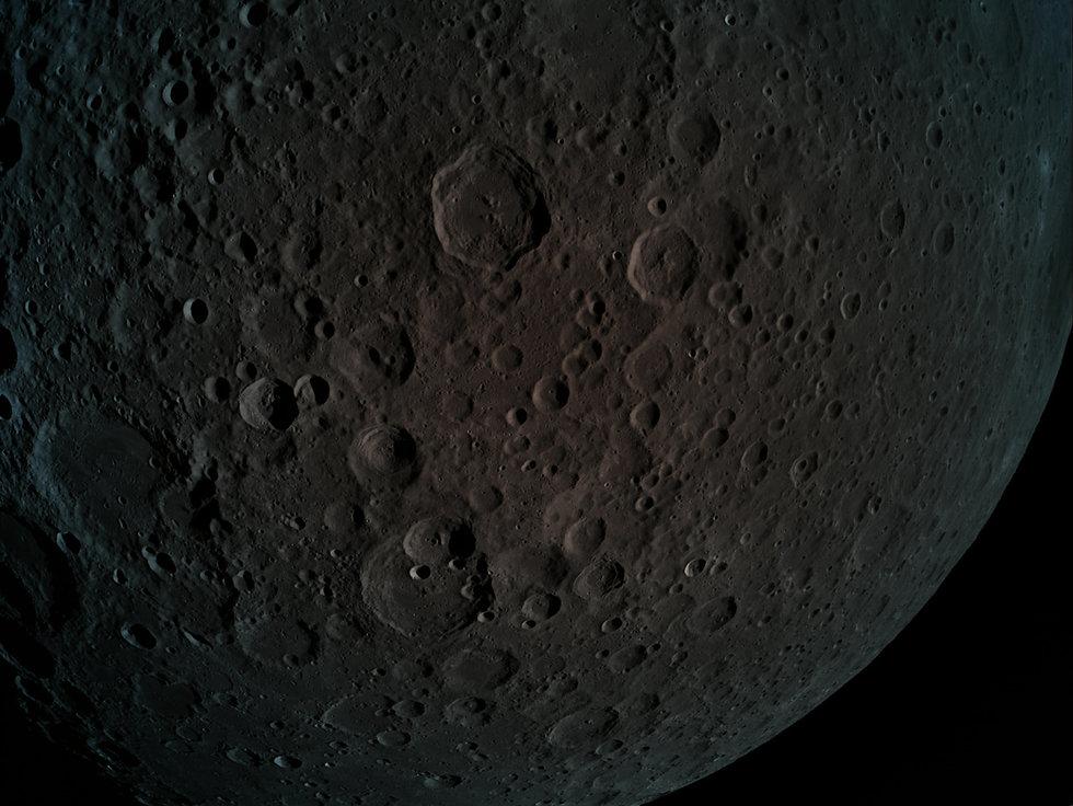 צפו: תמונות של הירח שצילמה החללית הישראלית