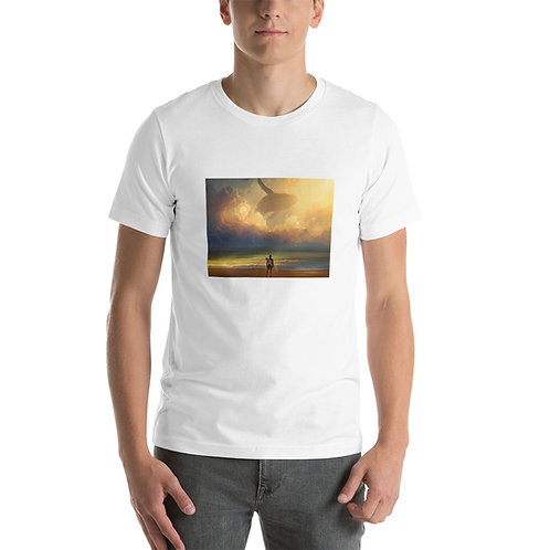 """T-Shirt """"Waiting for the Wave"""" by RHADS"""