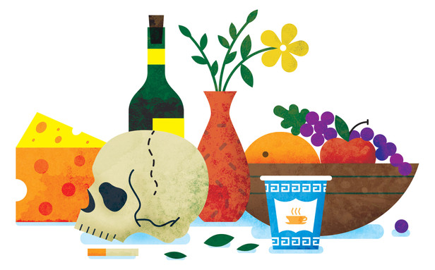 Illustration for The New Yorker's food issue. AD: Mia Song