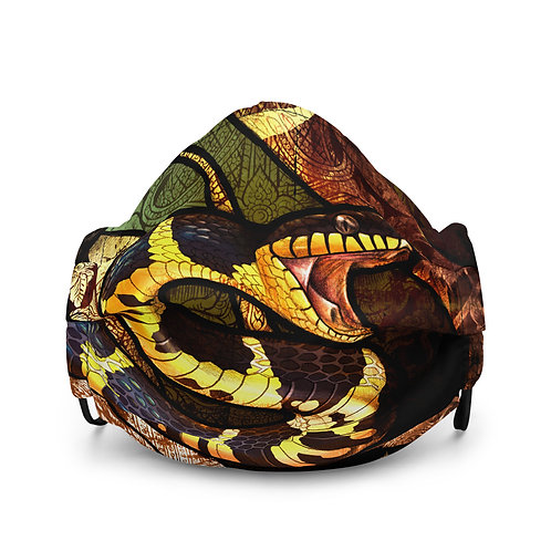 "Mask ""Mangrove Snake"" by Culpeo-Fox"