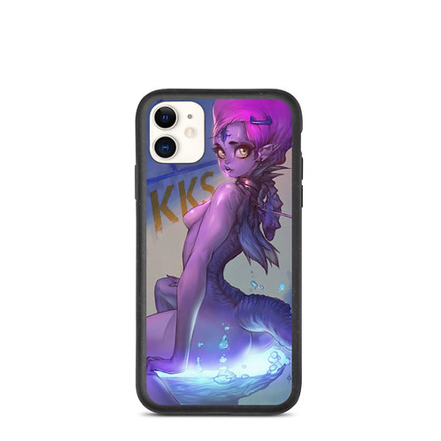 """iPhone case """"Purple Girl"""" by Elsevilla"""