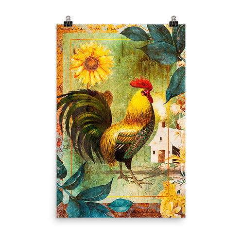 "Poster ""Farm Days"" by phatpuppyart-studios"
