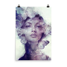 """Poster """"Adorn"""" by Escume"""
