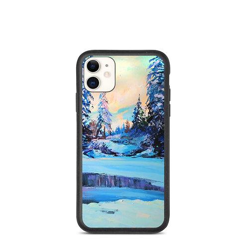 """iPhone case """"Cold Winter"""" by Gudzart"""