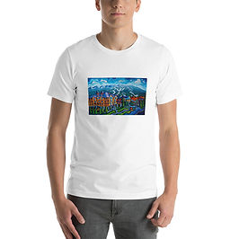 """T-Shirt """"Whistler Village"""" by LauraZee"""
