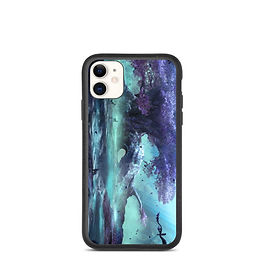 "iPhone case ""Moonlit Respite"" by JoeyJazz"