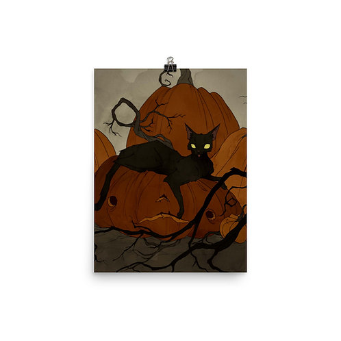 "Poster ""Black Cat"" by AbigailLarson"
