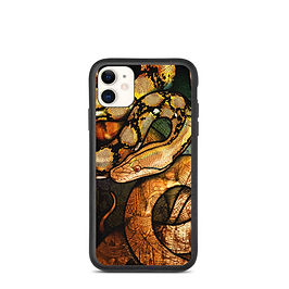 """iPhone case """"Reticulated Python"""" by Culpeo-Fox"""