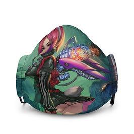 "Mask ""Back to Green"" by Elsevilla"