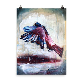 """Poster """"City Bird"""" by MikeOncley"""