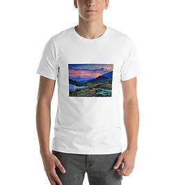 """T-Shirt """"Evening 2"""" by Gudzart"""