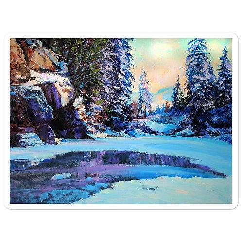 """Stickers """"Cold Winter"""" by Gudzart"""
