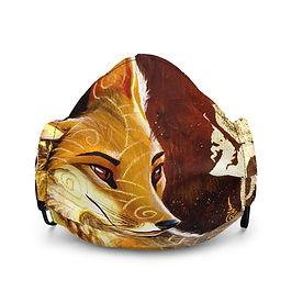 """Mask """"culpeo fox"""" by Culpeo-Fox"""