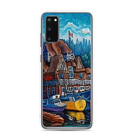 """Samsung Case """"Vancouver Rowing Club"""" by LauraZee"""