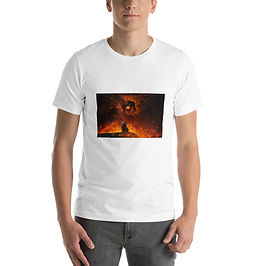 """T-Shirt """"The Shadow and the Flame"""" by Anatofinnstark"""