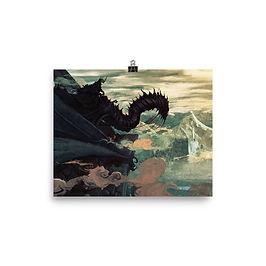 """Poster """"Witch King"""" by Anatofinnstark"""