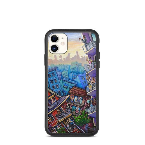 """iPhone case """"7pm Cheers"""" by LauraZee"""
