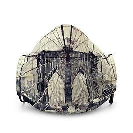 "Mask ""Brooklyn Bridge"" by Takmaj"