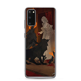 """Samsung Case """"Hungry Hellhounds"""" by AbigailLarson"""