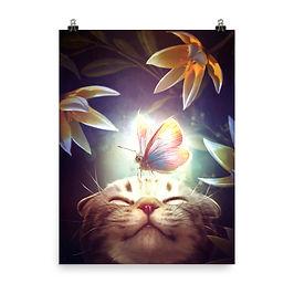 "Poster ""Nice Surprise"" by ElenaDudina"