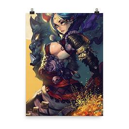"""Poster """"Hornette"""" by Elsevilla"""