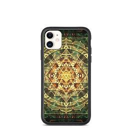 """iPhone case """"Sri Yantra Healing Mandala"""" by Lilyas"""