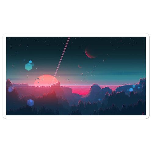 "Stickers ""Under the Strange Horizon"" by JoeyJazz"