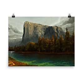 """Poster """"El Capitan 2"""" by chateaugrief"""