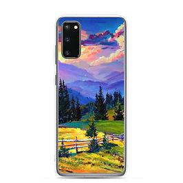 """Samsung Case """"Sunset"""" by Gudzart"""