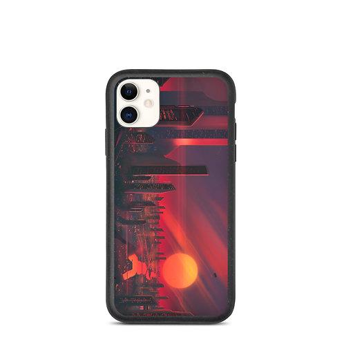 "iPhone case ""3019 City of Bright Lights"" by JoeyJazz"