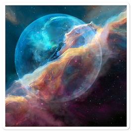 """Stickers """"Hubble Bubble"""" by JoeyJazz"""