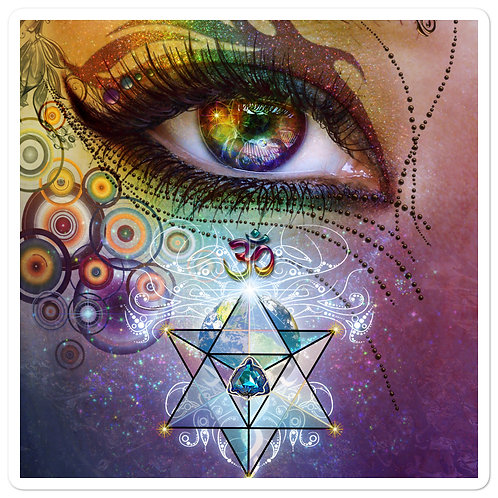 "Stickers ""Rainbow Eye"" by Lilyas"