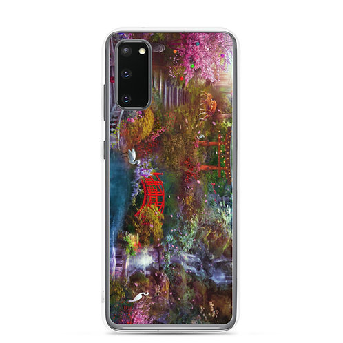 "Samsung Case ""My Japanese Garden"" by phatpuppyart-studios"