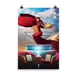 """Poster """"Parnassus Unbound"""" by JeffLeeJohnson"""