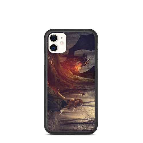 "iPhone case ""The Dragon Tamer"" by phatpuppyart-studios"