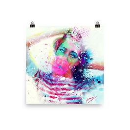 "Poster ""Bubble Yum"" by phatpuppyart-studios"
