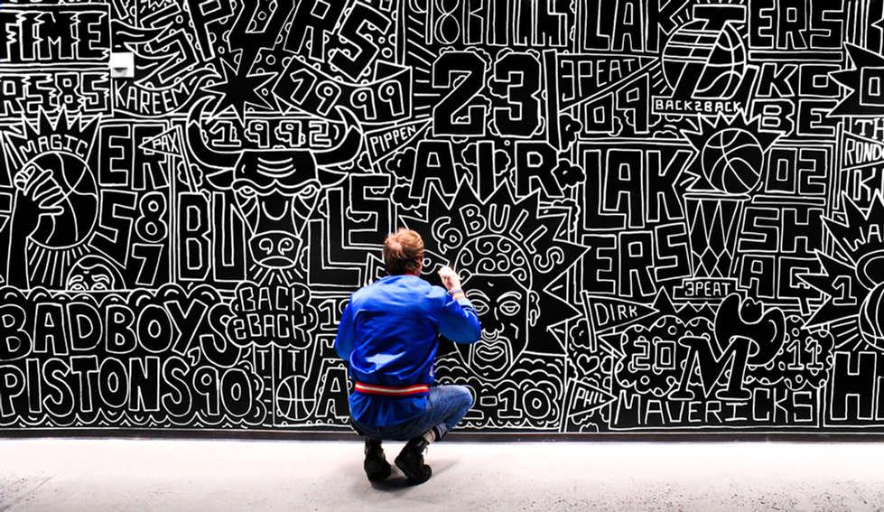 Bleacher Report Mural